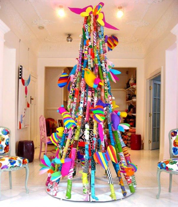 Креативные елочки своими руками на новый год фото